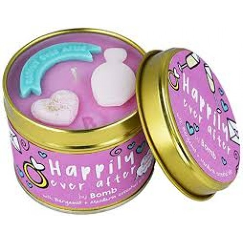 HAPPILY EVER AFTER TIN CANDLE