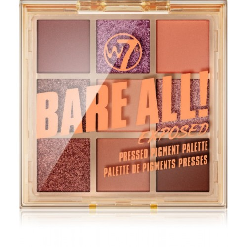 Bare All Pressed Pigment Palette - Exposed